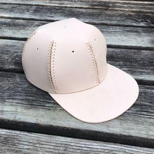 Handmade Leather VegTan Baseball Hat Cap